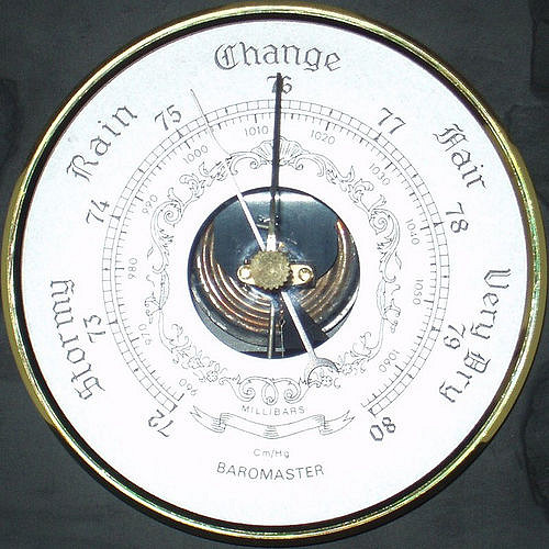 Barometric pressure change and shortness of breath flare ups with COPD, Asthma, Pulmonary Fibrosis and other Pulmonary conditions.
